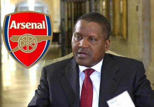 Нигерийский миллиардер планирует купить лондонский Арсенал