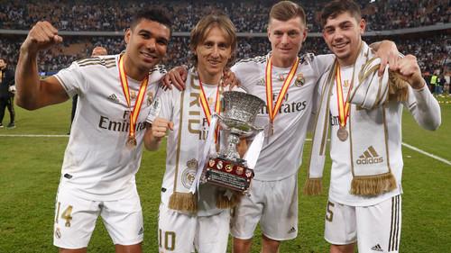 ВИДЕО. Реал празднует победу в Суперкубке Испании