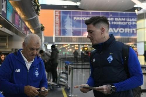 ФОТО. Динамо отправилось в Турцию без Родригеша и Беседина