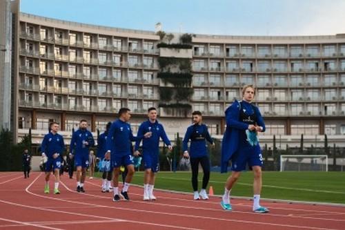 ФОТО. Динамо провело первую тренировку на сборе в Турции