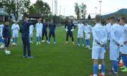 Украина U-20: прибытие и первая тренировкам перед ЧМ