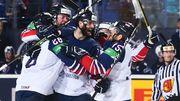Британские хоккеисты отпраздновали победу самокритичной песней