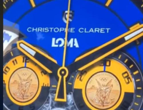 ВИДЕО. Именные часы Василия Ломаченко будут представлены в Каннах