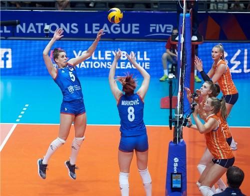 Стартовала женская волейбольная Лига Наций