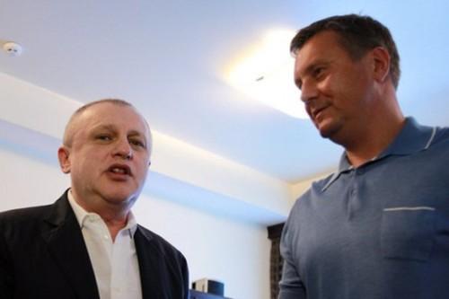 ЦЫГАНЫК: «Суркис сказал, что разговор с Хацкевичем будет долгим»