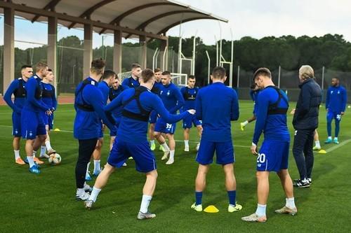 Динамо проведет спарринг с бразильским Новоризонтино