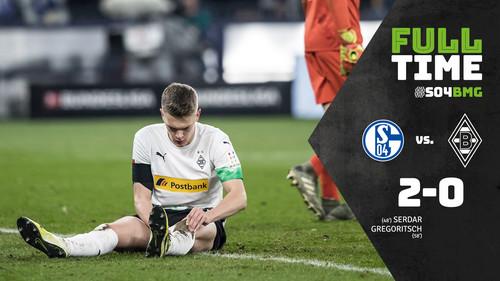 Шальке нанес поражение Боруссии М и вошел в зону Лиги чемпионов