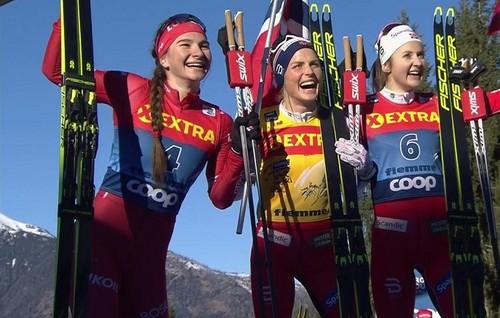 Лыжные гонки. Йохауг выиграла разделку в Нове Место