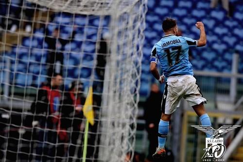 Лацио выиграл 11-й подряд матч в чемпионате, обновив рекордную серию