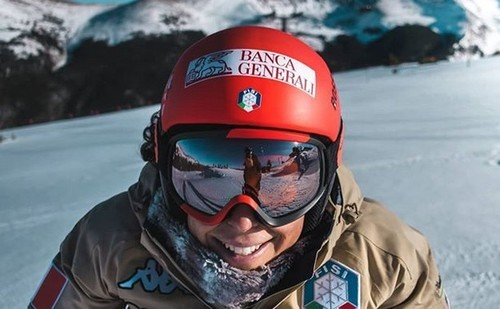 Горные лыжи. Бриньоне и Влхова разделили победу в Сестриере