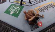 UFC 246. Келлехер эффектно разобрался с Осборном