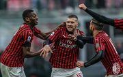 Милан при поддержке Шевченко в компенсированное время обыграл Удинезе