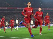 Ливерпуль – Манчестер Юнайтед – 2:0. Видео голов ван Дейка и Салаха