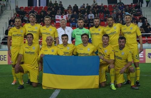 Украинская сборная ветеранов победила на Кубке легенд в Батуми