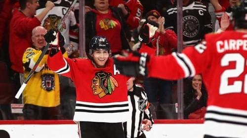 ВИДЕО. Будто Кубок Стэнли выиграл. Патрик Кэйн набрал 1000 очков в НХЛ