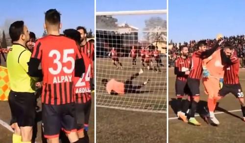ВИДЕО. Это карма! Вратарь в Турции взял два пенальти и был удален...