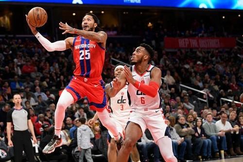 НБА. 10 очков Михайлюка не спасли Детройт в матче с Вашингтоном