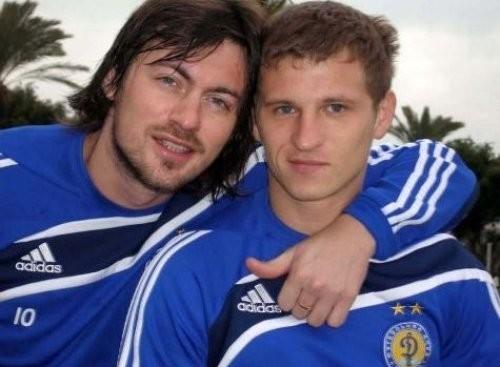 ВИДЕО. Милевский и Алиев сыграли в футбол на Крещатике