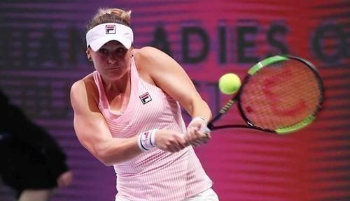 Australian Open. Козлова уступила в матче парного разряда