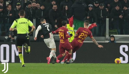 Фотоотчет с матча ювентус рома