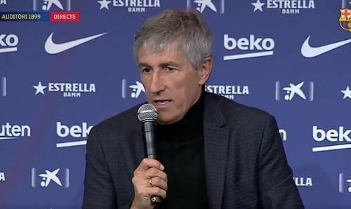 Сетьен обвинил газон в плохой игре Барселоны с Ибицой