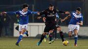 Милан одержал выездную победу над Брешией за счет гола Ребича