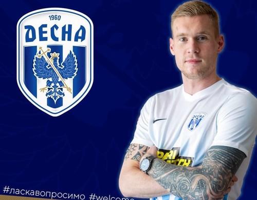 Десна подписала защитника сборной Эстонии