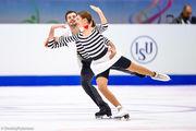 ВИДЕО. Выступление Назаровой и Никитина на чемпионате Европы