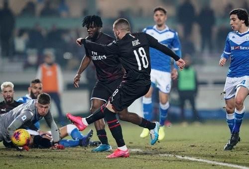 Брешия — Милан — 0:1. Видео гола и обзор матча