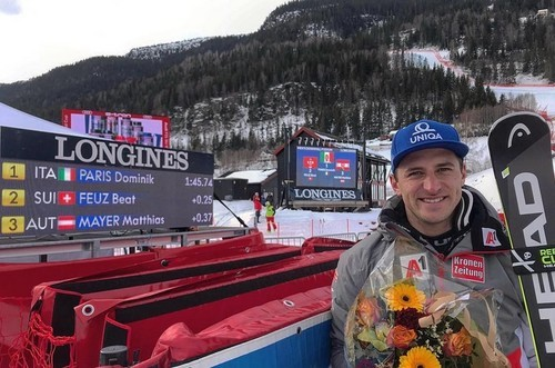 Горные лыжи. Майер выиграл скоростной спуск на Штрайфе