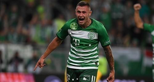 Зубков забил за Ференцварош в чемпионате Венгрии