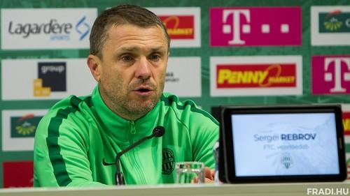 Сергій РЕБРОВ: «Я захоплений нашою грою, але є в чому додавати»