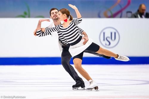 Украинский дуэт Назарова/Никитин стал 10-м на чемпионате Европы
