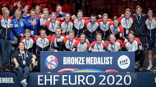 Сборная Норвегии выиграла бронзу чемпионата Европы по гандболу