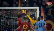 ВИДЕО. Невероятно курьезный гол Лацио в ворота Ромы