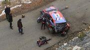 ВИДЕО. Драматичная авария. Чемпион мира WRC улетел со склона горы