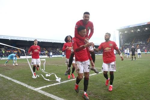 Манчестер Юнайтед забил 6 голов в ворота клуба третьего дивизиона