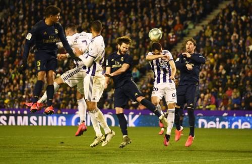 Реал обыграл Вальядолид за счет гола Начо в концовке матча