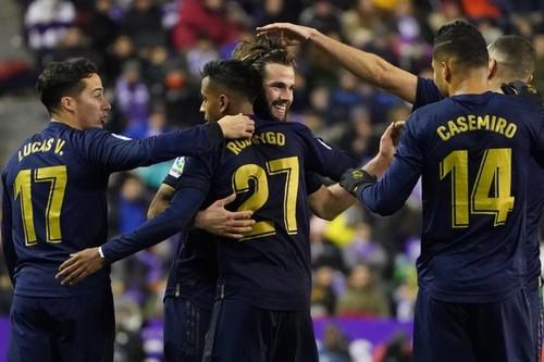 Реал впервые за 100 дней единолично возглавил турнирную таблицу Ла Лиги