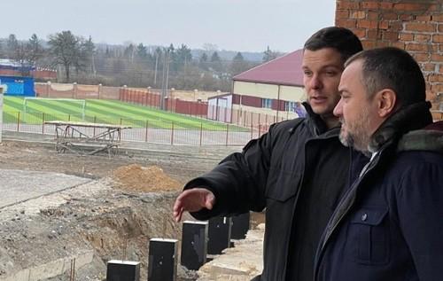 УАФ проинспектировала новый стадион Колоса. Открытие намечено на апрель