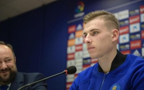 Андрій ЛУНІН: «Найважливіше - довіра тренера. Мені подобається в Ов'єдо»