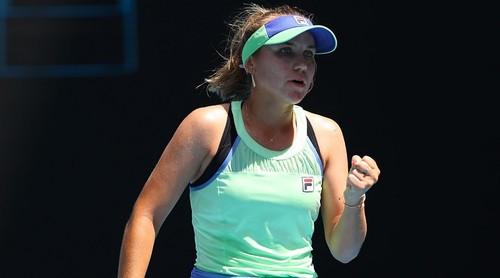 Australian Open. Американка Кенін стала першою півфіналісткою турніру