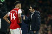 Артета сподівається, що Обамеянг залишиться в Арсеналі