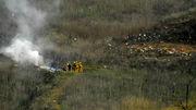На месте крушения вертолета Брайанта нашли только три тела из девяти