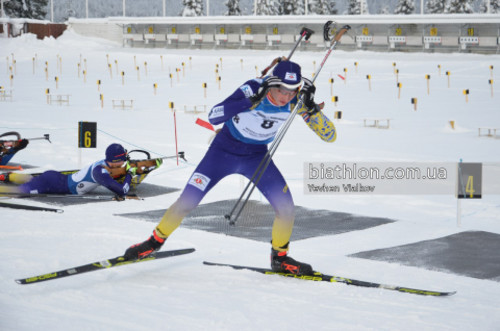 ЮЧМ-2020 по биатлону. Украина финишировала седьмой в юношеской эстафете