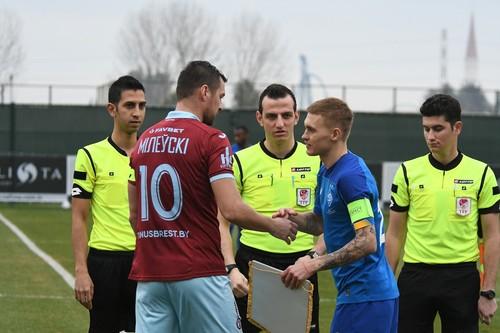 Динамо в Турции: травма Цыганкова, встреча с Милей, вратарь в атаке