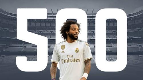 Марсело провел 500 матчей за Реал