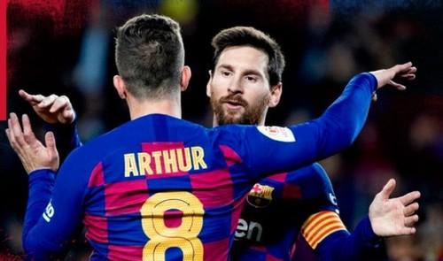 Месси одержал 500 побед с Барселоной. Первым в истории испанского футбола