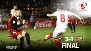 Севилья вылетела из Кубка Испании, проиграв клубу Сегунды