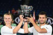 Australian Open. Крейчикова і Мектич виграли фінал у міксті